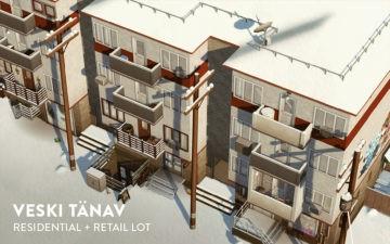 Постсоветский многоквартирный дом для Sims 4 - Veski Tanav