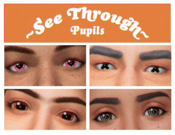 Линзы Spoopils для Sims 4