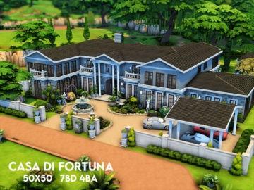 Огромный жилой дом без мебели Casa Di Fortuna