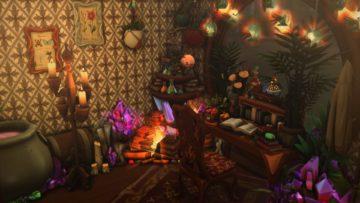 Комната ведьмы для Sims 4 - Witch Room