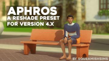 Мягкий пресет ReShade для Sims 4 - Aphros