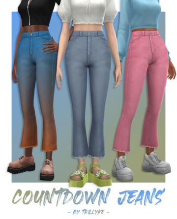 Женские укороченные джинсы - Countdown Jeans