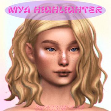 Хайлайтер для Sims 4 - Mya Highlighter