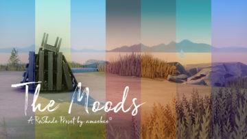Пресет для ReShade Sims 4 с большим выбором цветов - The Moods
