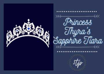 Тиара для Sims 4 - Princess Thyras Sapphire Tiara