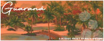 Приятный пресет для ReShade Sims 4 - Guarana