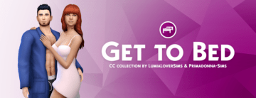 Набор одежды для сна - The Sims 4: Get to Bed Collection