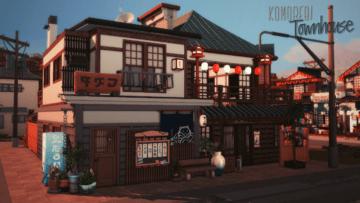 Таунхаус на Комореби для Sims 4 - Komorebi Townhouse