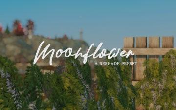 Мягкий пресет для ReShade в Sims 4 - Moonflower
