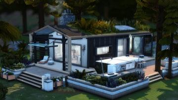 Крошечный дом для Sims 4 - Tiny Modern Escape