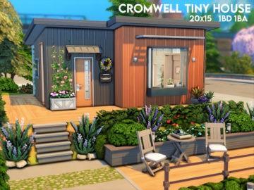 Компактный дом для Sims 4 - Cromwell Tiny House