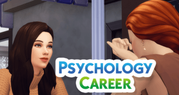 Карьера психолога для Sims 4 - Psychology Career