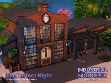 Ночной клуб для Sims 4 в стиле лофт - The Perfect Night