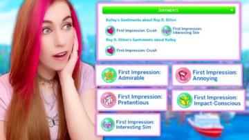 Мод на Первые впечатления для Sims 4 - First Impressions