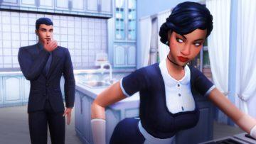 Одноуровневая карьера горничной для Sims 4 - Maid Career