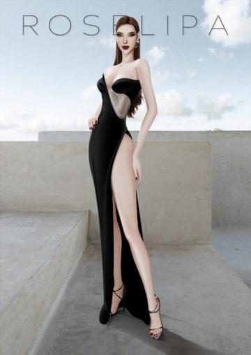Модельные позы для КАС в Sims 4 - Model Pose v10