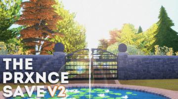 Сохранение для Sims 4 от The Prxnce