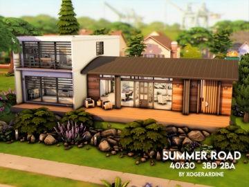 Современный семейный дом - Summer Road