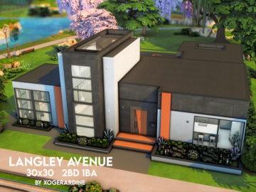 Большой современный дом - Langley Avenue