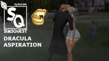 """Жизненная цель """"Дракула"""" для Sims 4 - Dracula Aspiration"""