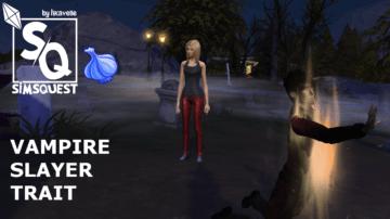 """Мод """"Убийца вампиров"""" для Sims 4 - Vampire Slayer Mod"""