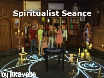 Мод на спиритический сеанс в Sims 4: Spiritualist Seance
