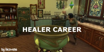 Мод на карьеру Целителя в Sims 4 - Healer