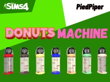 Автомат с пончиками для Sims 4 - Functional Donuts Machine