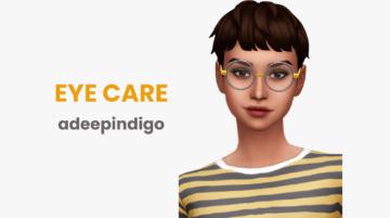 Мод на уход за зрением для Sims 4 - Eye Care