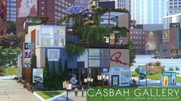 Центр Творчества для Sims 4 - Casbah Gallery