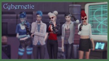 Кибернетический протез рук для Sims 4 - Cybernetic