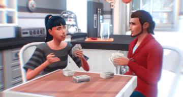"""Мод """"Карты на любом столе"""" для Sims 4 - Play Cards Anywhere"""
